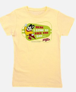 Mighty Mouse: Save The Day Girl's Tee