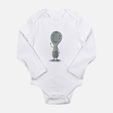 Unique Spoons Long Sleeve Infant Bodysuit