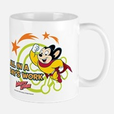 Mighty Mouse: All In A Days Work Mug