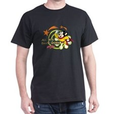 Mighty Mouse: All In A Days Work T-Shirt