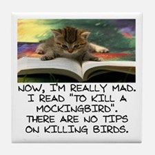 CAT - TO KILL A MOCKINGBIRD Tile Coaster