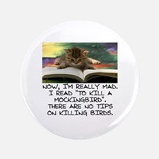 CAT - TO KILL A MOCKINGBIRD Button
