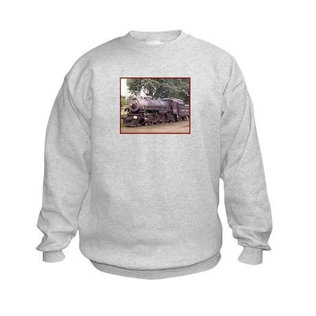 Steam Trains Kids Sweatshirt