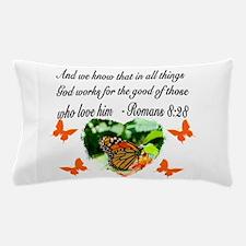 ROMANS 8:28 VERSE Pillow Case