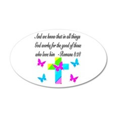 ROMANS 8:28 VERSE Wall Decal