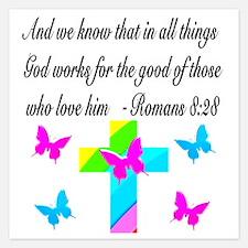 ROMANS 8:28 VERSE Invitations
