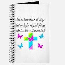 ROMANS 8:28 VERSE Journal