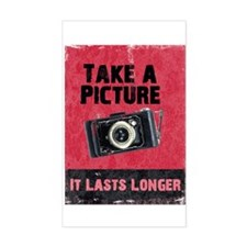 Take a Picture Rectangle Decal