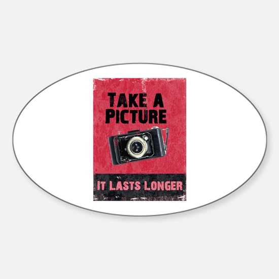 Take a Picture Oval Decal