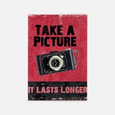 Take a Picture Rectangle Magnet