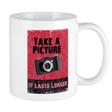 Take a Picture Small Mug