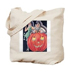 Vintage Costume Party Tote Bag