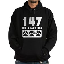 147 Dog Years Old Hoodie