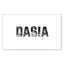 Dasia Rectangle Decal
