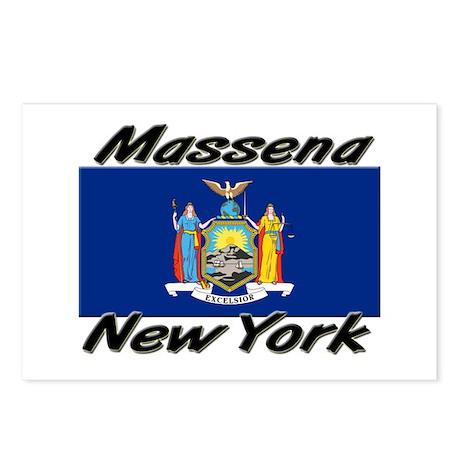 Massena New York Postcards (Package of 8)