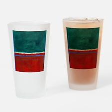 ROTHKO CHRISTMAS Drinking Glass