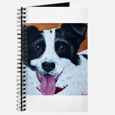 Unique Red border collie Journal