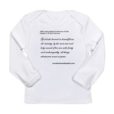 Unique Calvinist Long Sleeve Infant T-Shirt