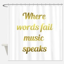 When words fail Music Speaks Inspirational Quote S