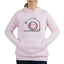 Cute Nikon Women's Hooded Sweatshirt