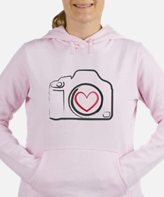 Cute Dslr Women's Hooded Sweatshirt
