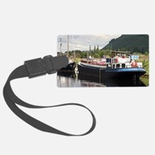 Eagle Inn pub barge, Scotland Luggage Tag