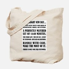 THIS BRIGHT NEW DAY Tote Bag