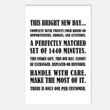 THIS BRIGHT NEW DAY Postcards (Package of 8)
