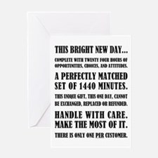 THIS BRIGHT NEW DAY Greeting Cards