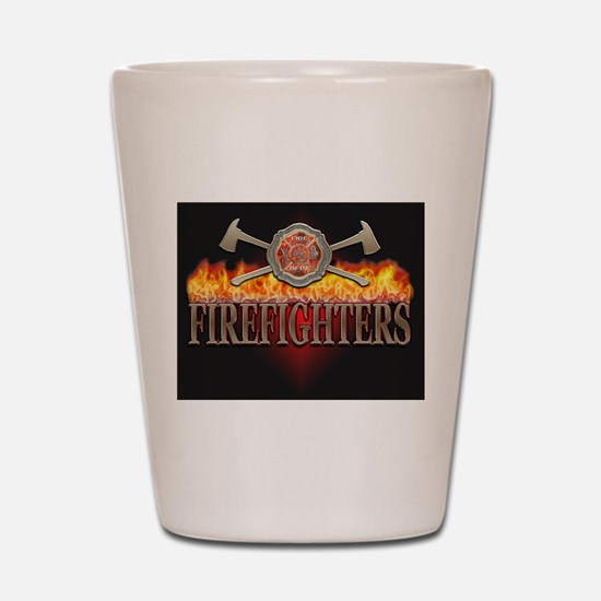 Firefighters 1 Shot Glass