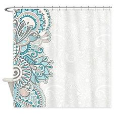 Ornate Pattern Shower Curtain