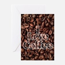 I Love Coffee, Coffee Be Greeting Cards (Pk of 20)