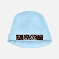 I Love Coffee, Coffee Beans baby hat