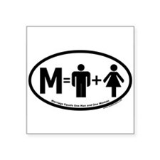 """Unique Christian Square Sticker 3"""" x 3"""""""