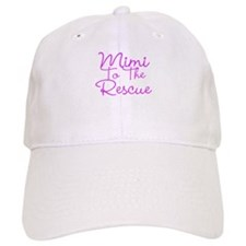Mimi To The Rescue Baseball Baseball Cap