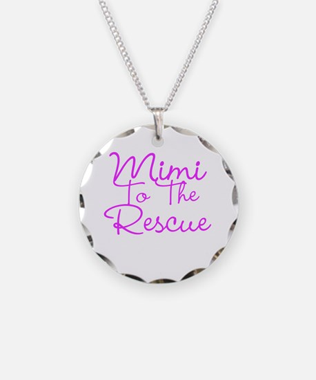 Mimi To The Rescue Necklace