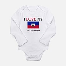 Unique Haitian Long Sleeve Infant Bodysuit