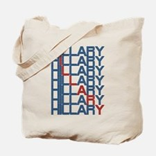 hillary clinton text stacks Tote Bag