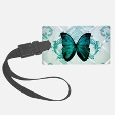 cute hipster girly butterfly Luggage Tag
