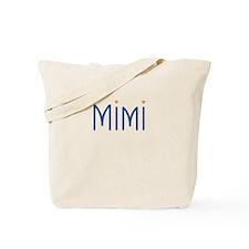 Mimi Blue Orange Tote Bag