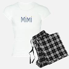 Mimi Blue Orange Pajamas