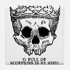 full of scorpions Tile Coaster