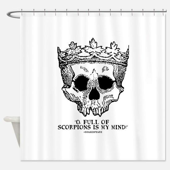 full of scorpions Shower Curtain