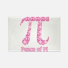 Peace of Pi Rectangle Magnet