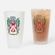Byrne Coat of Arms - Family Crest Drinking Glass