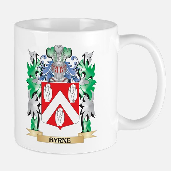 Byrne Coat of Arms - Family Crest Mugs