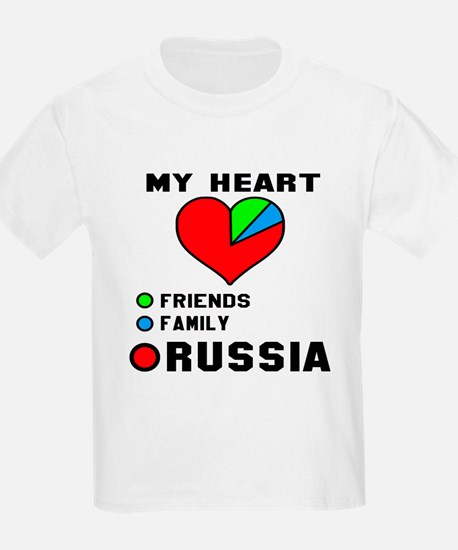 My Heart Friends, Family and Ru T-Shirt