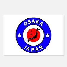 Osaka Japan Postcards (Package of 8)