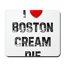 I * Boston Cream Pie Mousepad