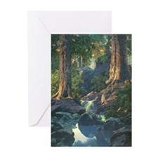 Cute Maxfield parrish Greeting Cards (Pk of 10)